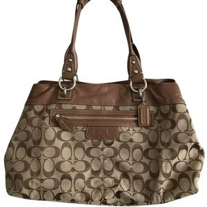 Coach Large Brown Tote